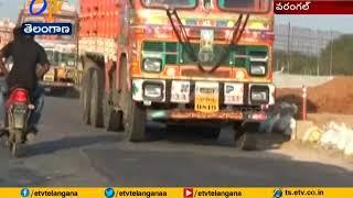 Medaram Jatara | Road Winding Works are at Snail's Pace | Hyderabad to Warangal