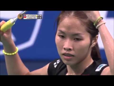 """"""" 7 ช็อต มหัศจรรย์ """" น้องเมย์ รัชนก อินทนนท์  มือ 1 ของโลก Badminton World"""