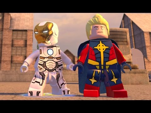 LEGO Marvel's Avengers - Industrial District 100% Guide (All Collectibles)