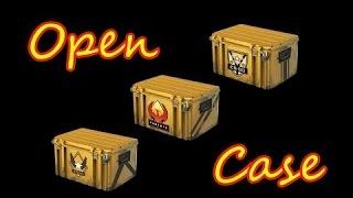 Открываем кейсы в CS:GO . Повезет ли нам с опеном контейнеров ?