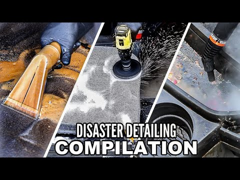 The BEST Interior Detailing Transformations Ever Season 1! Dirtiest Car Detailing Series