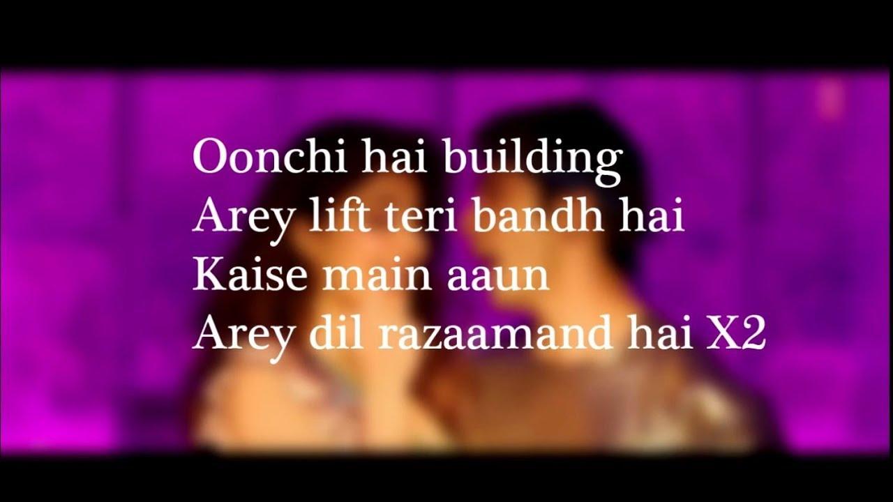 (LYRiCS)Oonchi Hai Constructing 2.zero Full Lyrical Video – Judwaa 2 | Anu Malik, Neha Kakkar