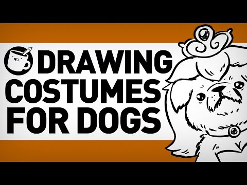 Drawing Halloween Costumes for Dogs