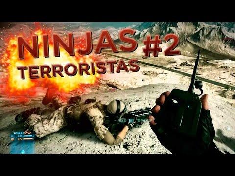 Ninjas Terroristas #2 - BF3