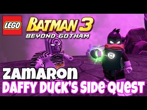 Daffy Duck's Side Quest [Zamaron] - LEGO Batman 3: Beyond Go