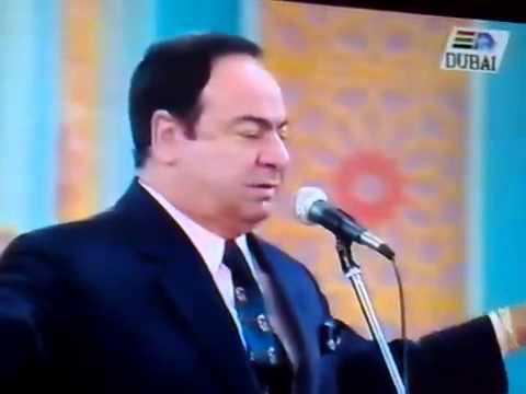 مؤسس الطرب صباح فخري قصيدة نعم سرى من مهرجان المحبة عام 1995