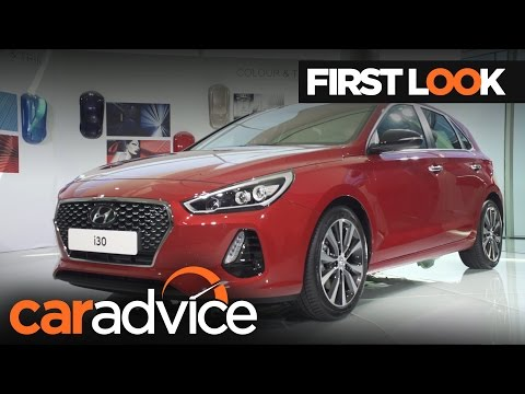 2017 Hyundai i30 First Look Review | CarAdvice