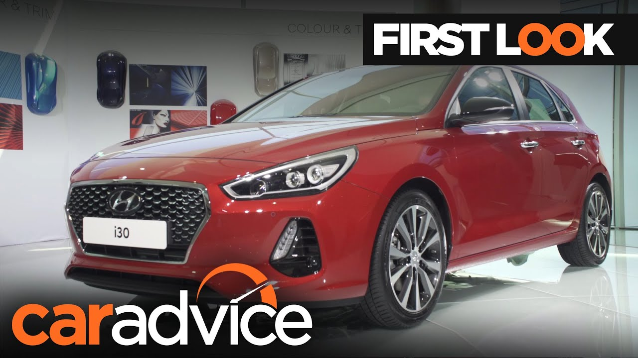 Innovative 2017 Hyundai I30 First Look Review  CarAdvice  YouTube