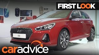 2017 Hyundai i30 First Look Review CarAdvice