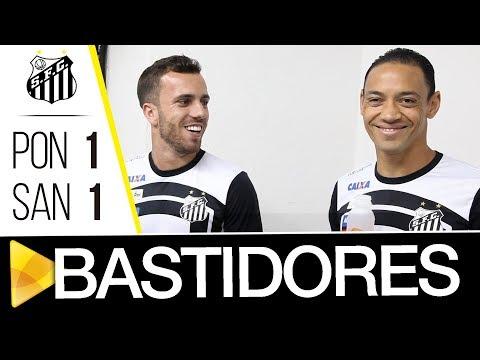 Ponte Preta 1 x 1 Santos | BASTIDORES | Brasileirão (12/10/17)