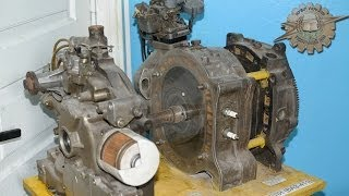 Теория ДВС: Роторно-Поршневой Двигатель Ванкеля (обзор)