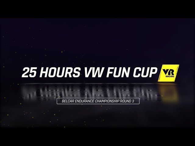 25 Hours VW Fun Cup VR Racing preview