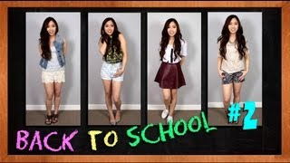 BACK TO SCHOOL OUTFITS - Episode 2, Summer