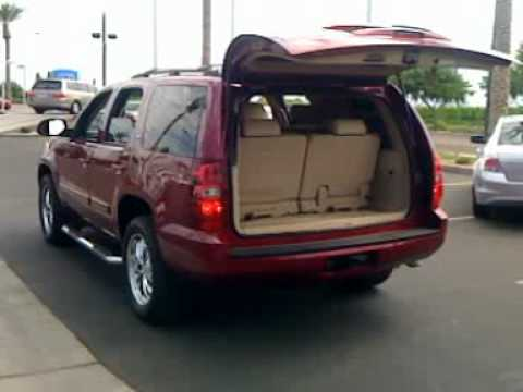 2007 Chevy Tahoe LTZ Power Liftgate - YouTube
