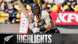 Guptill Launches NZ to Series Win | 5th KFC T20 SHORT HIGHLIGHTS | BLACKCAPS v Australia