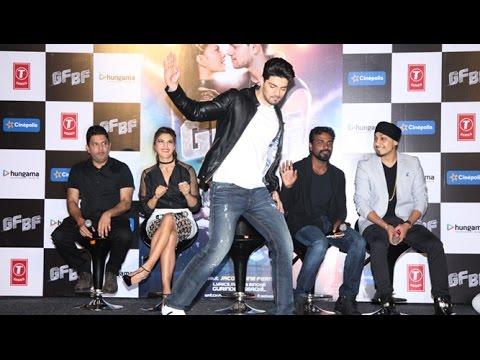 Sooraj Pancholi's Dance At GF BG Song launch event