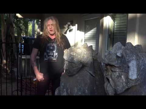 Keeping Up With the Sebastians EP 1: Sebastian Bach New Album 2018 Drum Hut 4K ULTRA HD #KUWTS