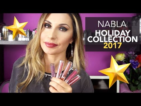 NABLA HOLIDAY COLLECTION + SWATCHES SULLE LABBRA || LadyGlow