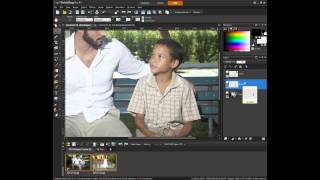 Adding A Person To An Image In PaintShop Pro X5