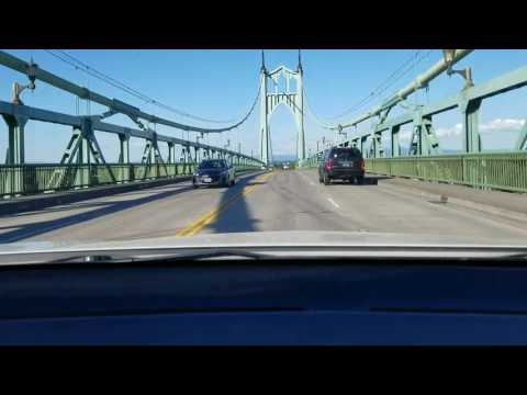 St John's Bridge Portland Oregon