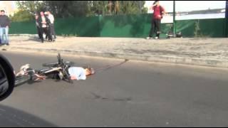 В Казани свадебный кортеж насмерть сбил женщину-велосипедистку. 7.09.13