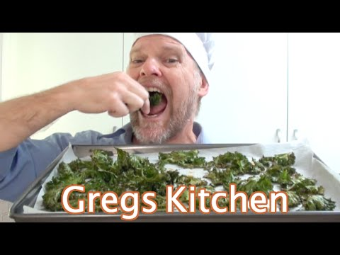 HOW TO COOK KALE CHIPS