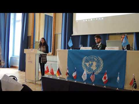 MMUN closing speech of France (Montana MUN)