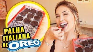 COMO FAZER A MELHOR PALHA ITALIANA DE OREO!!!!
