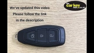 Key Battery Ford Prox ***Follow the link to new video***
