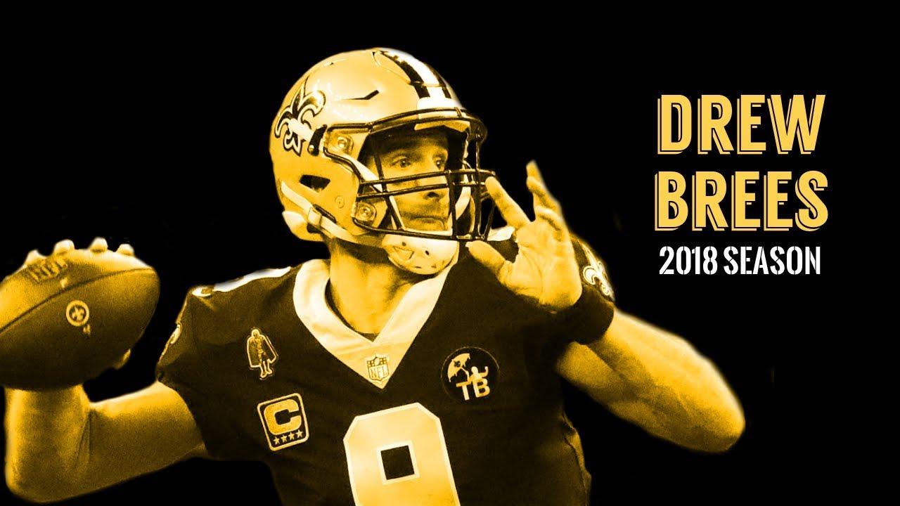 huge discount a7e05 0271c Drew Brees 2018 Highlights |
