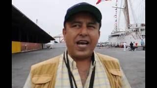 BUQUE ARMADA DE PERÚ UNIÓN, ARRIBO A PUERTO DE GUAYAQUIL 2016