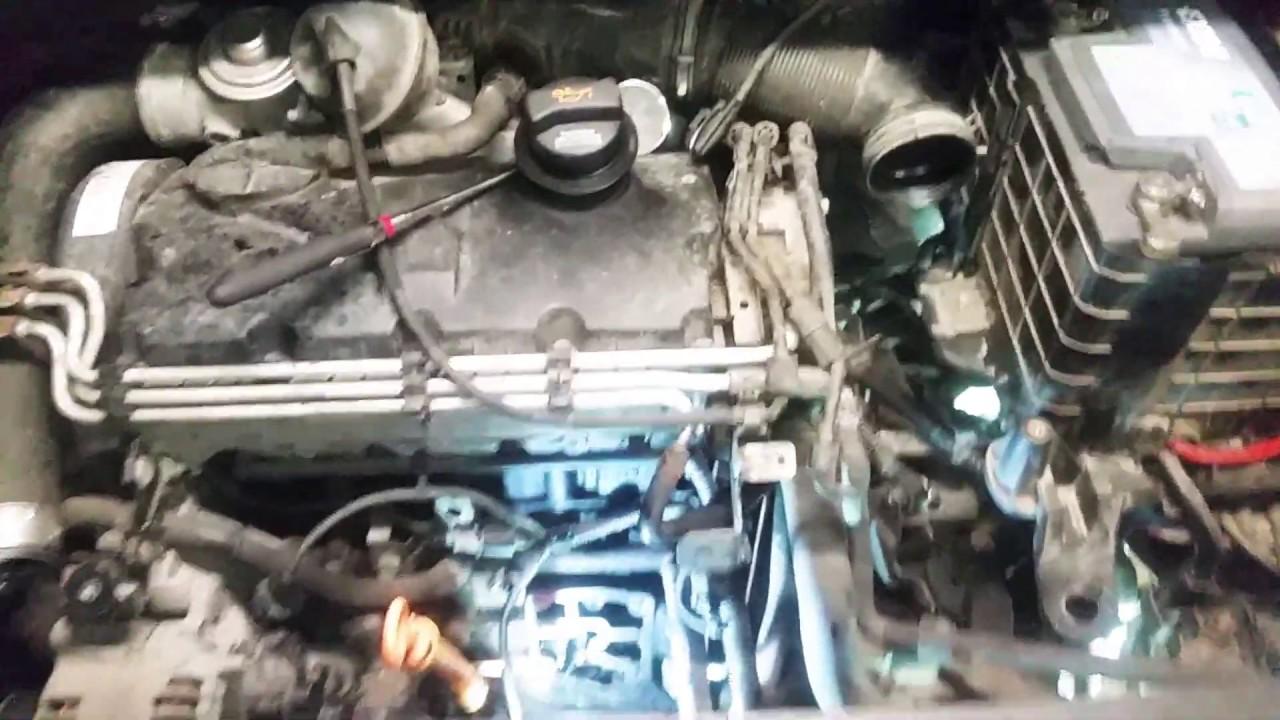 VW 1 9 TDI 77kw Engine speed sensor G28 location
