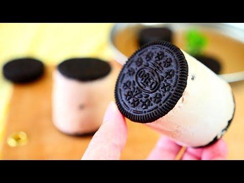 Oreo Mousse Ice Cream Sandwich