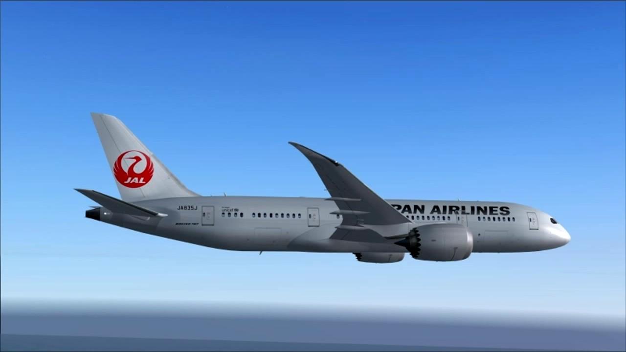 JL70 787-8 JAL HO CHI MINH - TOKYO HANEDA