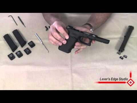 Laser's Edge Studio Extended Mag Release for Glock