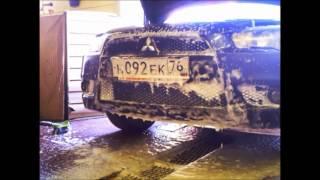 Мойка радиатора кондиционера на автомойке(, 2015-07-04T07:44:22.000Z)