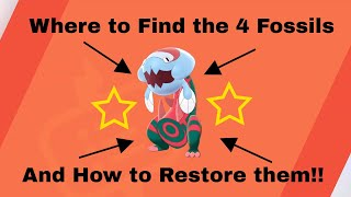 How to Get all SWORD & SHIELD Fossil Pokemon - Fossil Guide