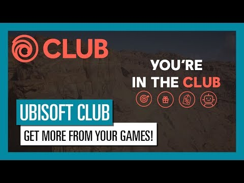 UBISOFT CLUB: UBISOFT PLAYER, YOU ARE IN THE CLUB