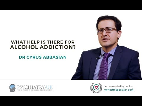 What help is there for an alcohol addiction?