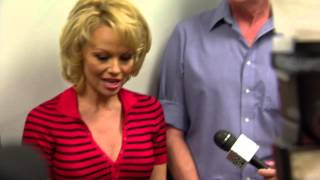 Pamela Anderson Visits Tent City Jail