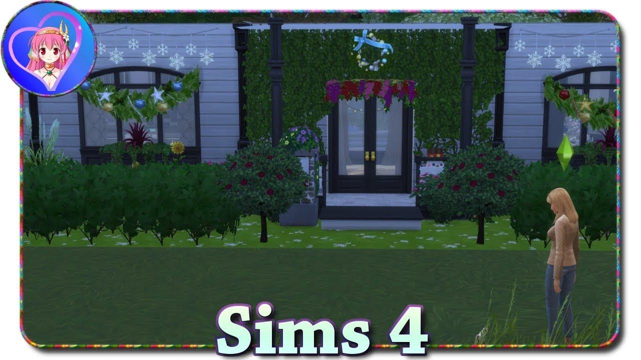 attraktiv Sims 4 Weihnachtsdeko Part - 19: Weihnachtsdeko 💜 Sims 4 [Hunde u0026 Katzen] »26«