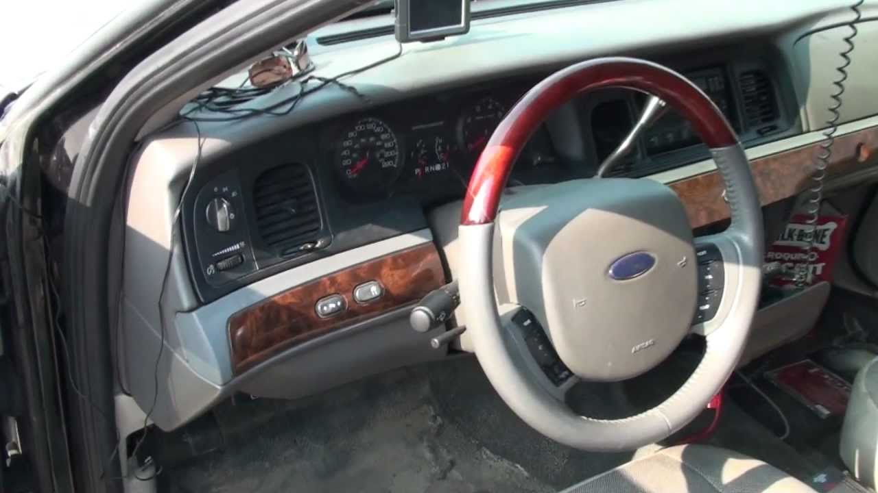 2007 Crown Victoria Dash Trim Wood Grain