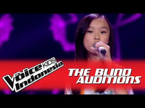 "Sandra ""Kau Adalah"" I The Blind Auditions I The Voice Kids Indonesia GlobalTV 2016"
