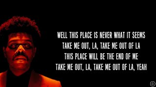 The Weeknd - Escape From LA (Lyrics)