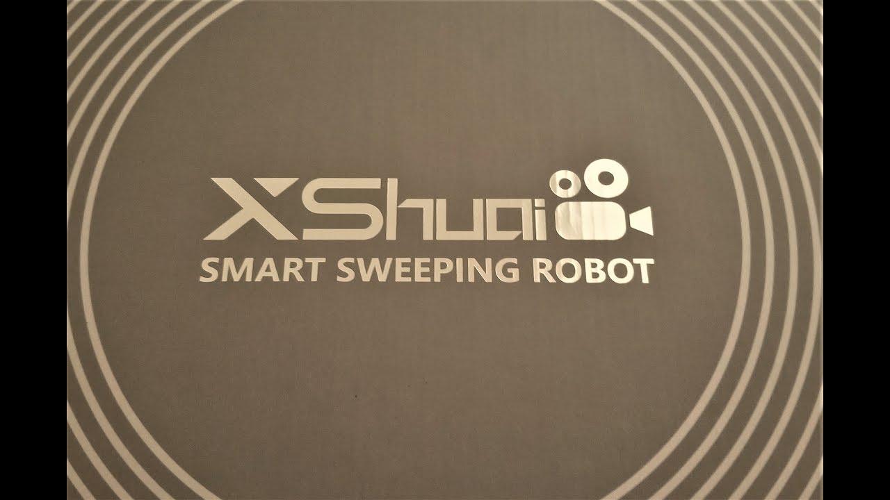 haier xshuai c3 smart robot vacuum cleaner. (episode 1,546) unboxing/review video: haier xshuai wifi connected smart vacuum cleaner #amazon c3 smart robot