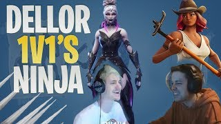 Compilation Fortnite (fr) Dellor vs Ninja - France Les deux perspectives