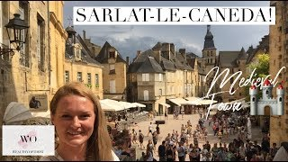 Sarlat-Le-Caneda, Beautiful Medieval Town! (DORDOGNE FRANCE)