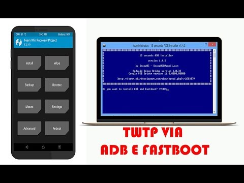 Como Instalar TWRP via ADB e Fasboot