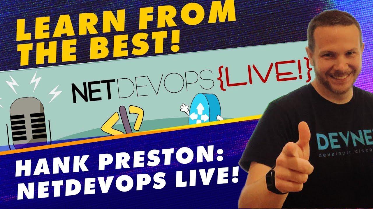 Want Hank Preston to teach you live? Free Python Security Training