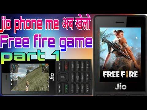 Jio Phone New Trick Jio Phone Me Free Fire Game Kaise Khele Jio Phone New Update